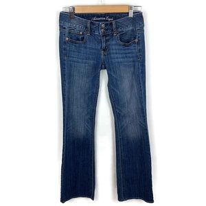 American Eagle Artist Flare Blue Jeans Size 2